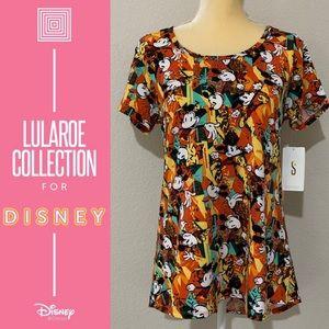 LuLaRoe Disney Mickey Mouse Classic T Sz Small